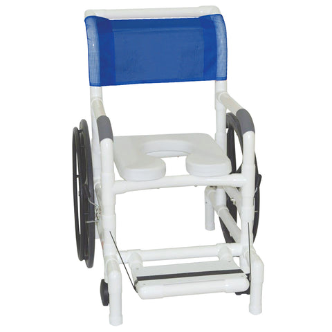 MJM International: Multi-Purpose Chair (Shower Chair, Transferchair) - 131-18-24W - Front View