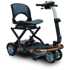 EV Rider: Transport Plus  Transportable Foldable scooter - S19+ TranSport Copper Side