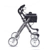 Image of Comodita: Avanti Walker Rollator - COM 800 Metallic Graphite Side View