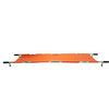 Image of FEI: Four Fold Stretcher, Aluminum, Orange Color with Handles & Bag - 16-1907 - Actual Image