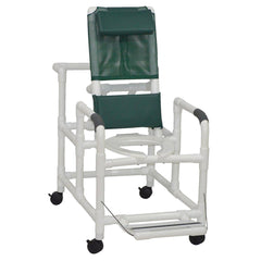 MJM International: Reclining Shower Chair With Folding Footrest - 195 - Actual Image