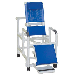 MJM International: Reclining Shower Chair With Sliding Footrest - 196 - Actual Image