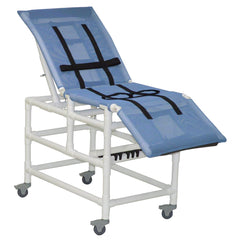 MJM International: Multi-Positioning X-Large Bathing Chair With Total Lock Casters - 197-XL-3TL-32