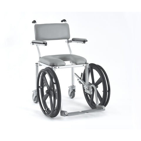 Nuprodx: Multichair Ultra Narrow Shower/Commode Wheelchair