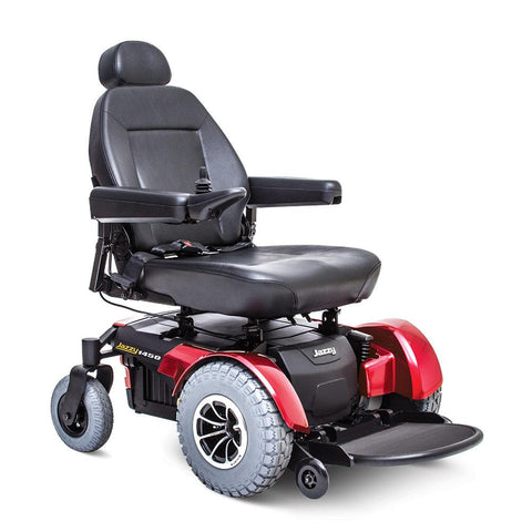 Pride Mobility: Jazzy 1450 Power Chair-Pride Mobility-Scooters 'N Chairs