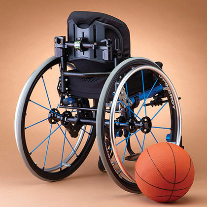 Ride Designs: Java Decaf Back for wheelchairs - Actual Image