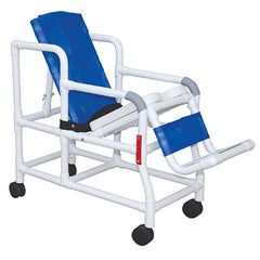 "FEI: MJM International, Tilt ""n"" Space Shower Chair - Buckle Safety Belt - Double Drop Arms - 20-4247"