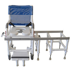 FEI: MJM International, Deluxe All Purpose Dual Showder Chair/Transfer Bench - 20-4249
