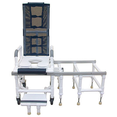"FEI: MJM International, Deluxe All Purpose Tilt ""n"" Space Shower Chair /Transfer Bench - 20-4250"