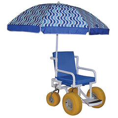 "FEI: All Terrain Chair - 20.25"" Internal Width - Safety Belt - Cushion Seat and Umbrella - 20-4259"