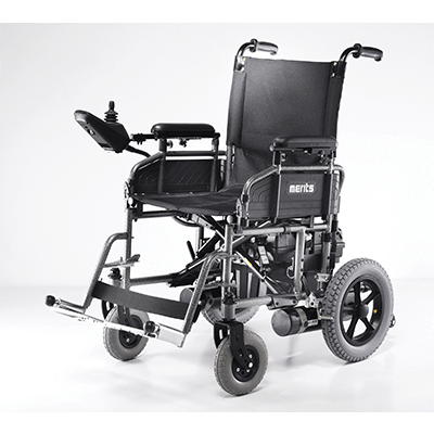 Merits: Folding Power Wheelchair electric wheelchair - Mobility Scooters Store