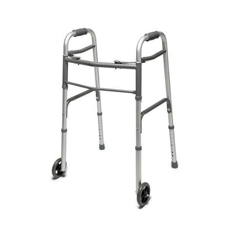 North Coast Medical: Two-Button Folding Walker - NC88018