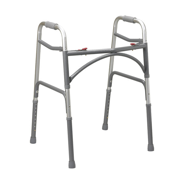 North Coast Medical: Double Button Extra-Wide Adult Folding Bariatric Walker - NC88023