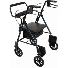 North Coast Medical: Transport Rollators - NC89088-1 - Blue Color