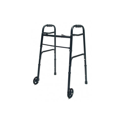 North Coast Medical: Lumex ColorSelect Adult Walkers with Wheels - NC88093-BK - Black Color