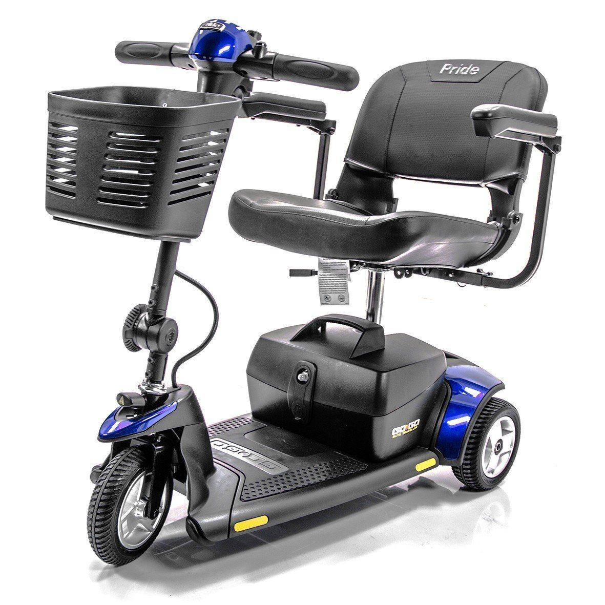 Pride Mobility: Go-Go Elite Plus Traveler 3 Wheel Scooter-Pride Mobility-Scooters 'N Chairs