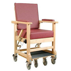 Convaquip: Transporter Chair Ascender - 711-7400 - Wine Rose Color