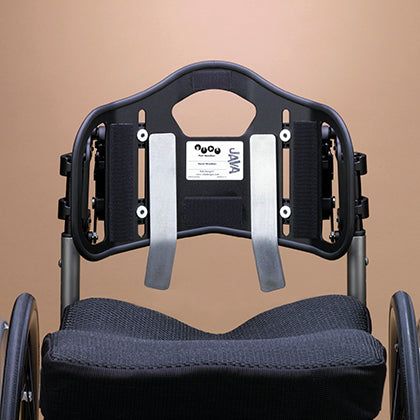 Ride Designs: Java Decaf Back for wheelchairs - Back Seat