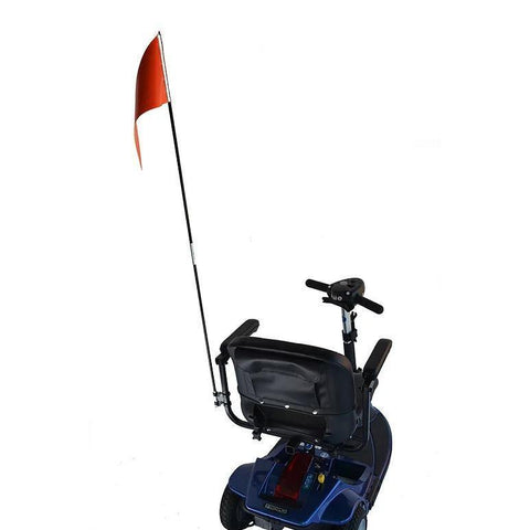 E-Wheels: Flag with Mounting Hardware