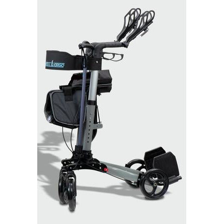 Ergoactives: Roller-Go Double Foldable Walker With Forearm Support - A042 - Foldable
