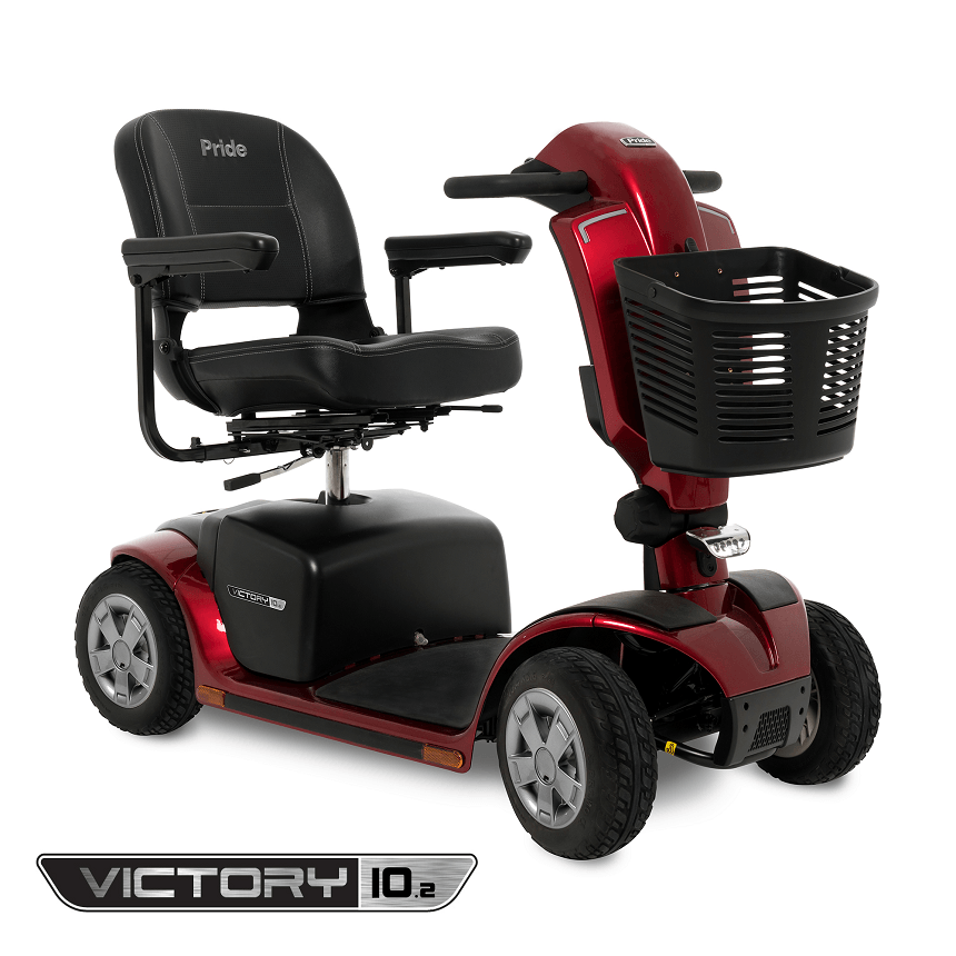 Pride Mobility Scooter >> Pride Mobility Victory 10 2 4 Wheel