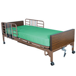 Compass Health: Semi-Electric Bed Package with Half Rails and Flex-Ease Innerspring Mattress - 30102