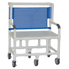 Convaquip: Bariatric Shower Chair With Flat Seat - 130-5-F