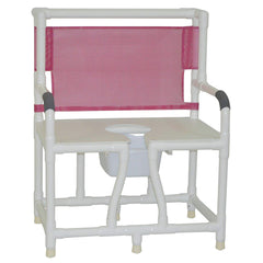Convaquip: Commodes - PVC, Bariatric Bedside Commode -  130-C10