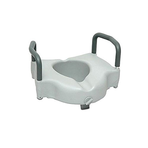 ProBasics: Clamp-On Raised Toilet Seat with Arms