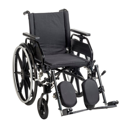 Drive Medical Viper Plus GT Wheelchair with Universal Armrests