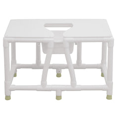 Convaquip: Bariatric Commode - No Back - 156-FSS-36