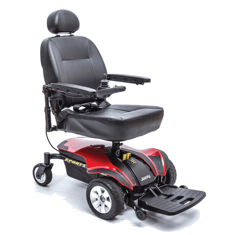 Pride Mobility: Jazzy Sport 2 electric wheelchair - Mobility Scooters Store