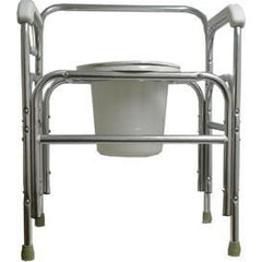 Convaquip: Bedside Commode - Fixed Arms Tall - 724T