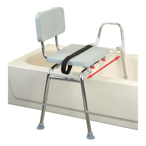 Eagle Health: Padded Sliding Transfer Bench (Regular) - 37561