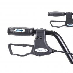 Convaquip: Bariatric Safety Roller - 10215BL - Brake View