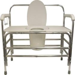 Convaquip: Bedside Commode - Fixed Arms - 736