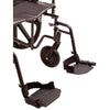 Image of Convaquip: Bariatric Wheelchair - PB-WC72820DS - Footrest Closeup View