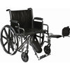 Image of Convaquip: Bariatric Wheelchair - PB-WC72820DS - Elevated Legrest