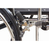 Image of Convaquip: Bariatric Wheelchair - PB-WC72820DS - Brakes Closeup View