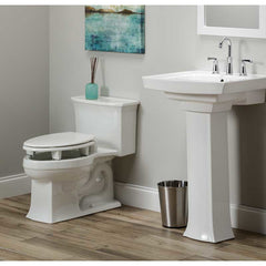 "Bemis Independence: ""Open Wall"" 3"" Elevated Toilet Seat With Open Front Ring - BEM-7YR82350TC 000"