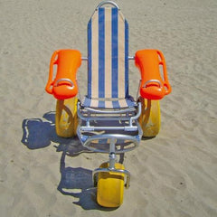Mobi-Chair: Floating Beach Wheelchair
