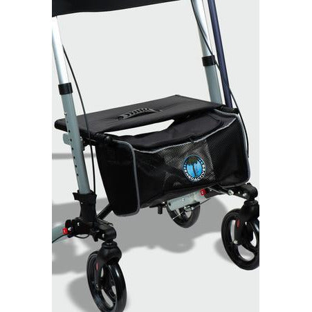 Ergoactives: Roller-Go Double Foldable Walker With Forearm Support - A042 - Bag