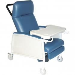 Convaquip: Bariatric Recliner - DRD574EW - Blue Ridge Color