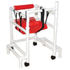 Image of MJM International: Stroller With Outriggers - 415-OR-3 - Back View