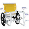 Image of MJM International: Combination Walker/Transferchair - 418-24 - Parts
