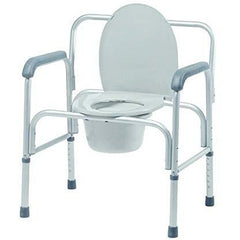 Graham Field: Bariatric 3-in-1 Aluminum Commode