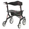 Image of FEI: Nitro Euro Style Walker Rollator, Heavy Duty, Color Black - 43-1904 - Back View