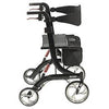 Image of FEI: Nitro Euro Style Walker Rollator, Heavy Duty, Color Black - 43-1904 - Side View