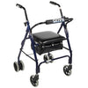 Image of FEI: 4-wheel Rollator with loop brake, Color blue - 43-2150 - Actual Image