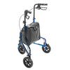 Image of FEI: 3-wheel Rollator with loop brake, Color blue - 43-2160 - Back View